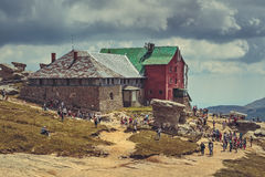 Babele chalet, Romania Stock Images