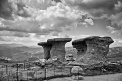 Babele från Bucegi Arkivfoto