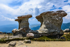 Babele - Geomorphologic rocky structures in Bucegi Mountains, Ro Royalty Free Stock Photography