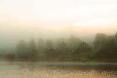 Babelsberg dimma Arkivbild