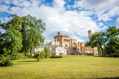 Babelsberg Palace under reconstruction in Potsdam, Germany Royalty Free Stock Image