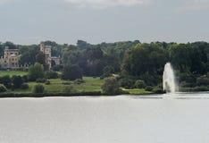 Babelsbergpark, Potsdam, Berlijn Royalty-vrije Stock Fotografie