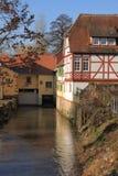 Babenhausen-Mühle Stockfotografie