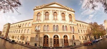 Babes-Bolyai Universiteit, Cluj, Roemenië Stock Afbeeldingen