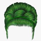 Babette волос с цветами отрезка провода зелеными ультрамодное fashio женщин иллюстрация штока