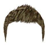 babette av hår med blonda färger för råttsvans moderiktig kvinnafashio Arkivbild