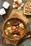 Ουγγρική σούπα φασολιών Babgulyas Στοκ Φωτογραφίες