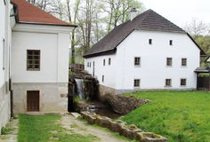 BabiÄÄino údolà - farmordal, tjeck Arkivbilder