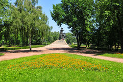 Babi Yar Monument en Kiev Fotografía de archivo