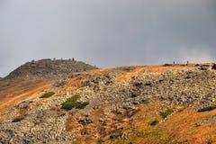 Babia Góra góra w Beskidy, Polska Zdjęcie Stock