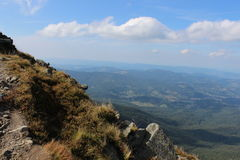 Babia Gora Mountain Royaltyfri Foto