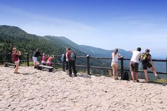 Babia Gora National Park Royaltyfri Fotografi