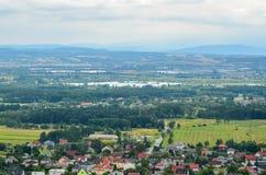 Summer rural landscape. Royalty Free Stock Images
