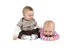 Babies Royalty Free Stock Photo