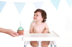 Babies 1st Birthday Stock Image