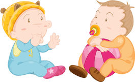 Babies Stock Image