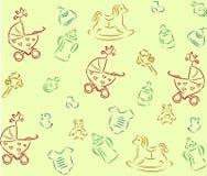 babies_background Stock Photos
