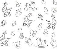 Babies_background Royalty Free Stock Photo