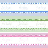 Babies  backgrounds Stock Photography