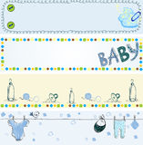 Babies banners Stock Photo