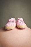 Babies booties Royalty Free Stock Images