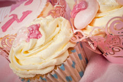 Babies cupcakes Royalty Free Stock Photography
