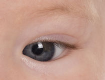 Babies eye Stock Photos
