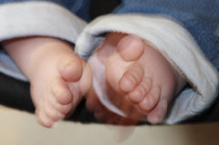 Babies feet Royalty Free Stock Images