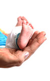 Babies foot Royalty Free Stock Photo