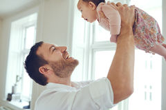 Babies are happiness made real Stock Photography
