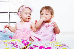 Babies play Stock Image