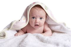 Babies protest Stock Images