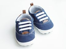 Babies shoes Stock Image