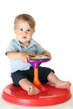 Babies and Toys Royalty Free Stock Photography