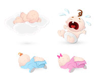 Babies Vectors Stock Photo