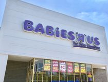 BabiesRUs Store Logo Stock Photography