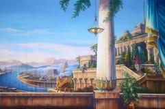 Babilonia antica Fotografia Stock Libera da Diritti