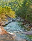 Babinda Fluss-Steine Lizenzfreie Stockfotografie
