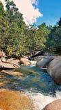 Babinda-Flusssteine Lizenzfreie Stockfotos