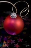Babiole d'arbre de Noël Images libres de droits