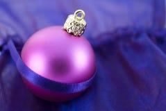 Babiole d'arbre de Noël Photographie stock