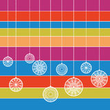 babioles colorées Photos stock