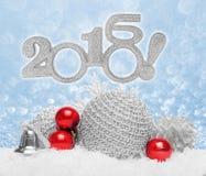 Babioles de boule de Noël Image stock