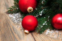 Babioles de décoration de Noël photo stock