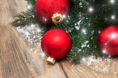 Babioles de décoration de Noël photos libres de droits