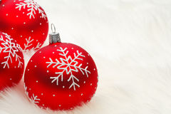 Babioles de Noël Photos stock