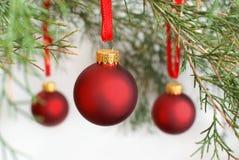 Babioles de Noël Images stock