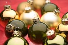 Babioles de Noël Photographie stock libre de droits