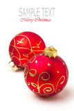 Babioles de Noël Photo stock