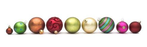 Babioles de Noël Photographie stock